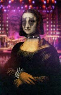 [Curiosidades] Mona Lisa emo, rockera