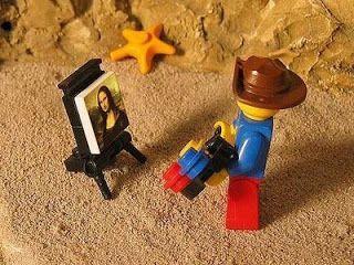 [Curiosidades] Mona Lisa, lego