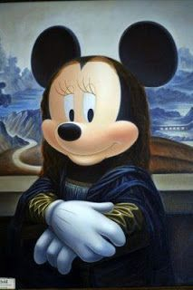 [Curiosidades] Mona Lisa mickye mouse