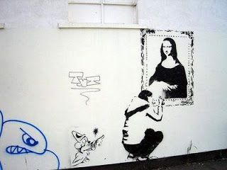 [Curiosidades] Mona Lisa Pared