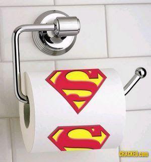 papel higienico de Batman