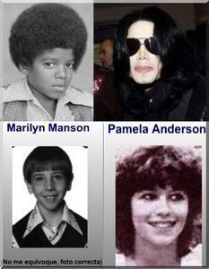 fotos de famosos cuando eran niños