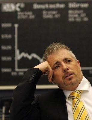 crisis financiera - desplome de bolsas
