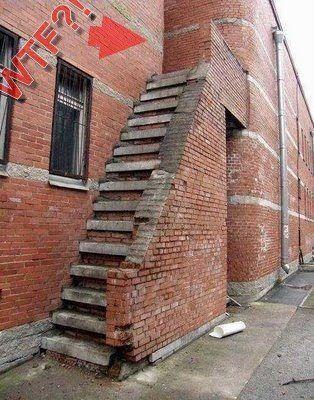 Curiosidades, escaleras