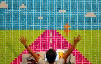 cortometraje deadline con post it