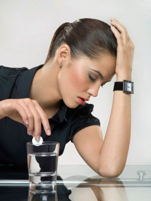resaca y dolor de cabeza