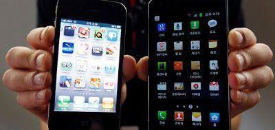 Samsung Galaxy SII Iphone 4