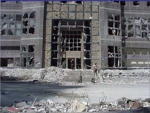 fotos de las torres gemelas destruidas 8