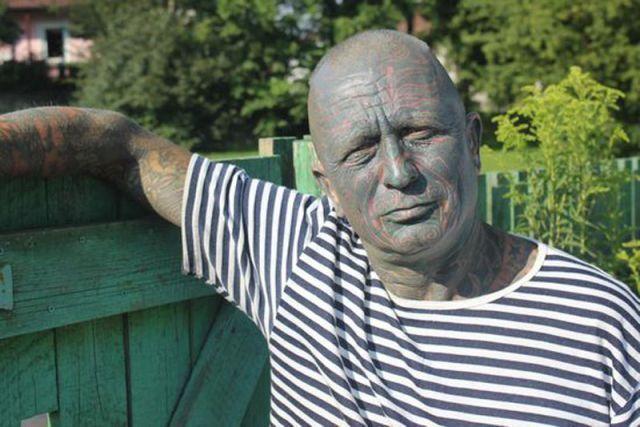 El Candidato a presidente más tatuado del mundo. Vladimir Franz
