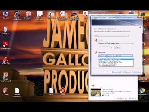 Configuración de audio y vídeo en Messenger