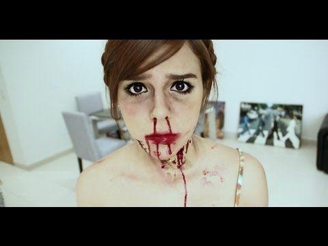 Hacer Heridas y Sangre de mentira para Halloween