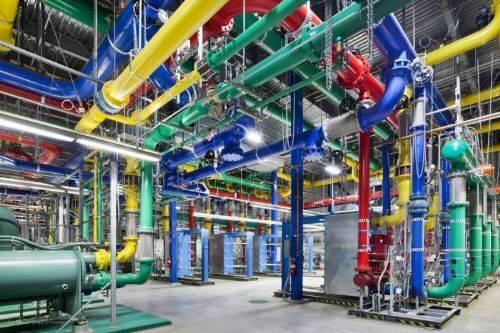 Fotos de los servidores de Google 6