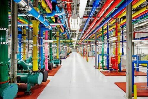 Fotos de los servidores de Google 8