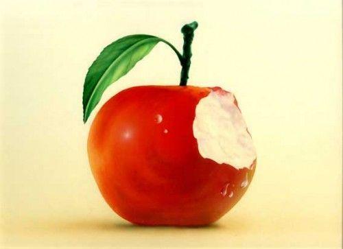 manzana para despertarse
