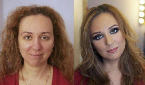 mujeres sin maquillaje 1