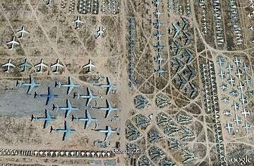 Descubrimiento curioso Google Earth 8