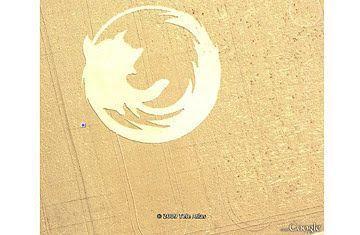 Descubrimiento curioso Google Earth 2