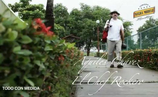 Aquiles Chavez, el chef roquero