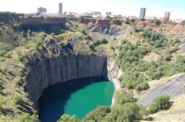 Mina de diamantes Kimberley - Sur-africa