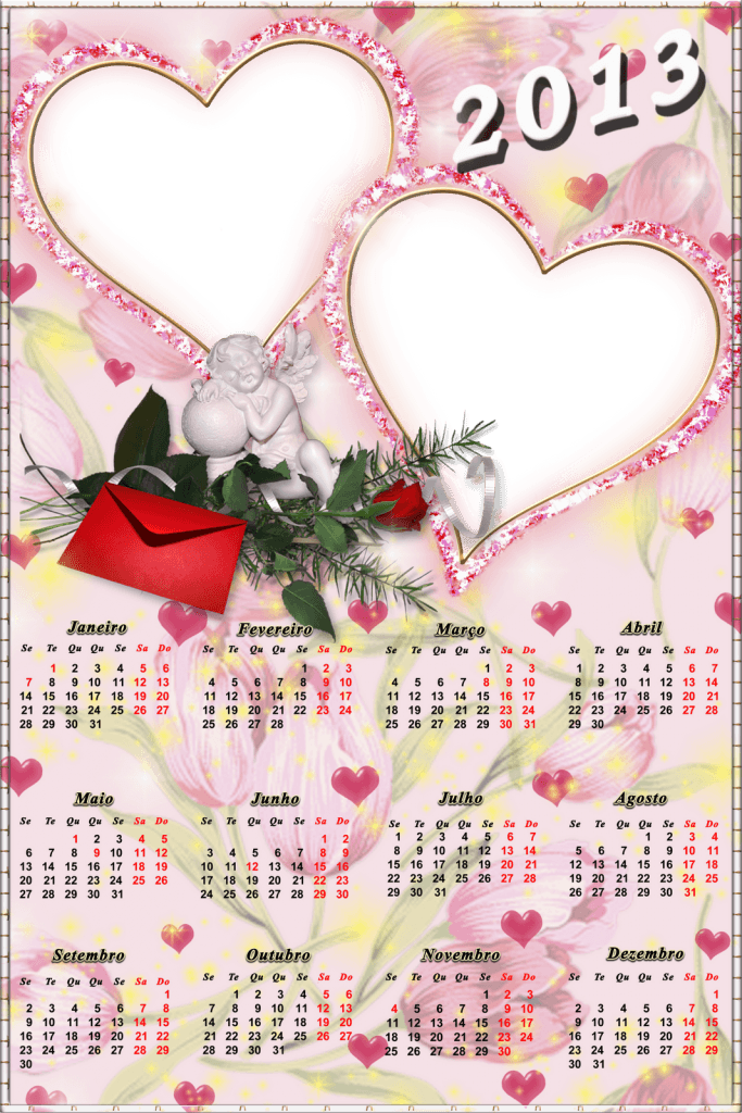 Calendario 2013 de amor para parejas