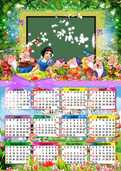 Calendario de la Bella Durmiente para Personalizar