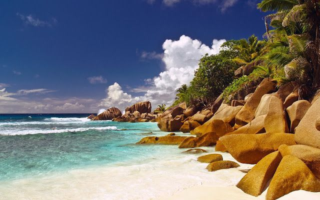 Islas Seychelles playa