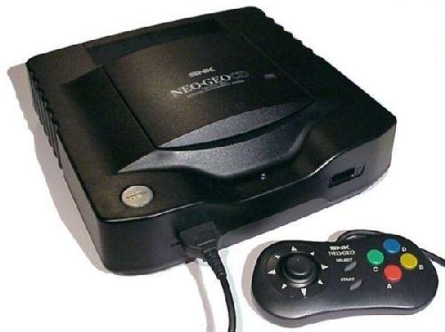 Neo Geo CD + pad