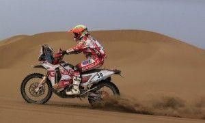 Las motos en el rally Dakar