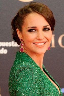 Paula Echevarría, apoya la moda española en los Goya con un vestido de Dolores Promesas