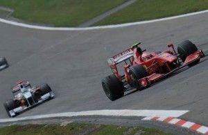 Preparación de un coche para la Fórmula 1