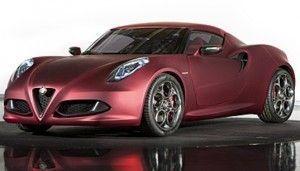 Alfa Romeo 4C 2013, Automóvil deportivo