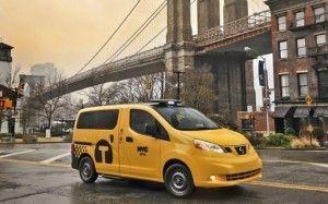 El Taxi NV200 Mobility de Nissan