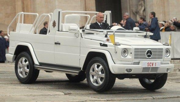 Foto del papa movil 2013 francisco I
