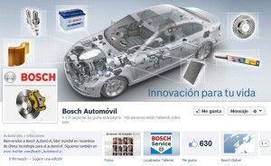 Facebook de Bosch Automoviles