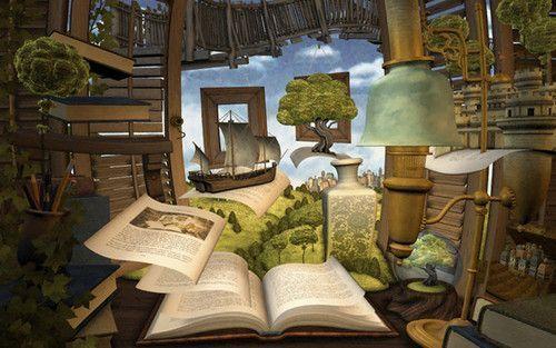 La lectura estimula la imaginación de los niños