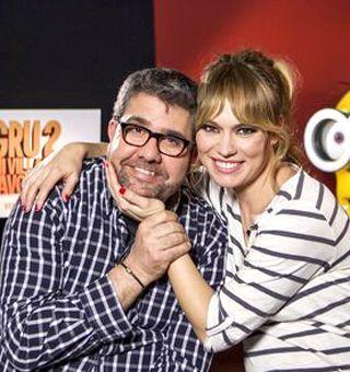 Florentino Fernández y Patricia Conde en Gru, Mi Villano Favorito