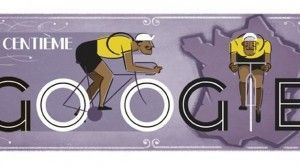Doodle de Google: 100 años de Tour de Francia