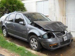 vehiculo accidentado