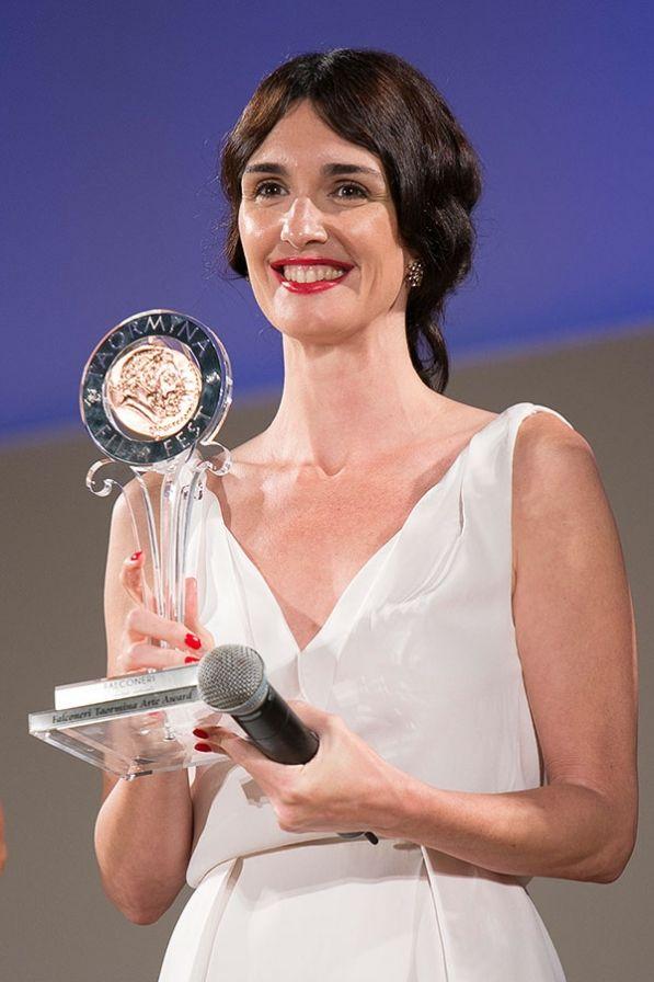 Paz Vega, premiada por su papel de María Callas