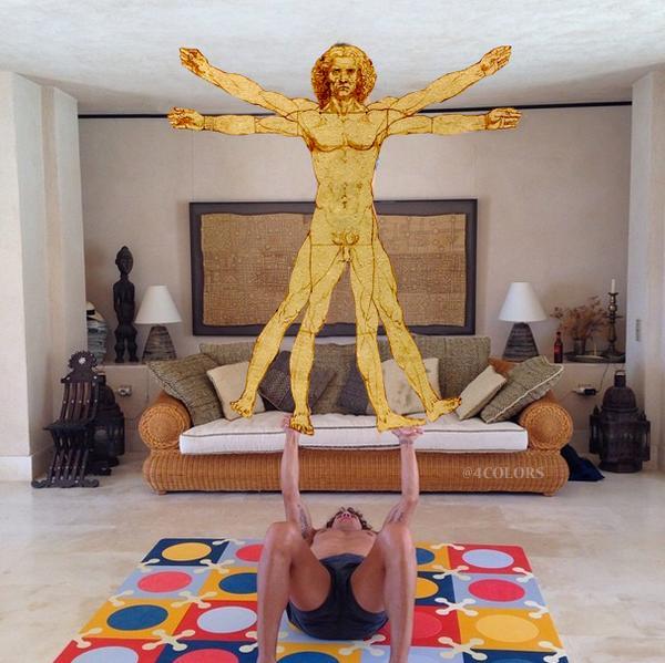 Parodias del Yoga Acrobático de Carles Puyol y Vanesa Lorenzo