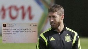 El supuesto error de Sergio Ramos con Robin Williams