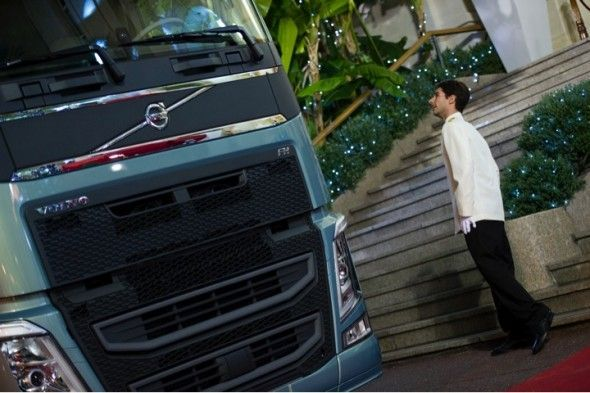 anuncio volvo trucks