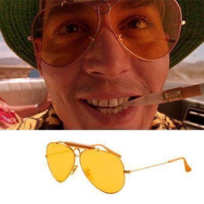 gafas usadas en Miedo-y-asco-en-Las-Vegas