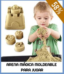 Arena Mágica Moldeable para Jugar