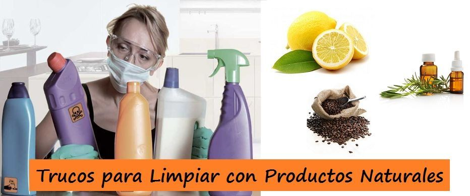 Ingredientes Naturales para Limpiar