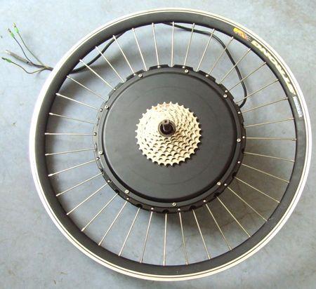 Kits con motor en la rueda o motores Hub (motor en el eje)