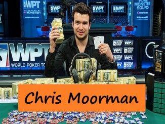 Chris Moorman, Ganar de Grandes Premios en Poner Online