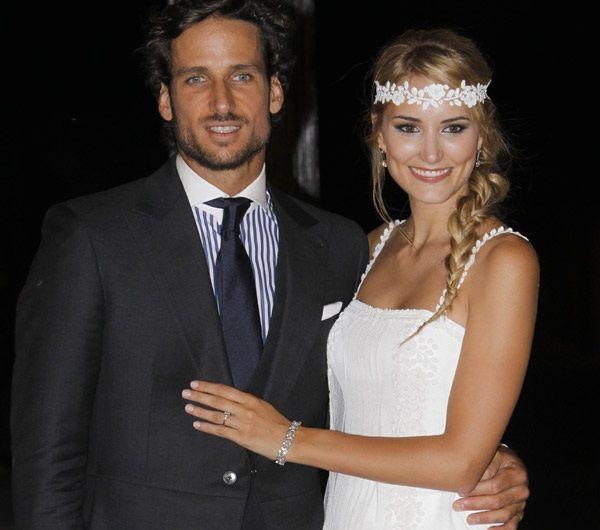 Alba Carrillo y Feliciano López, Menos de Un Año de Matrimonio