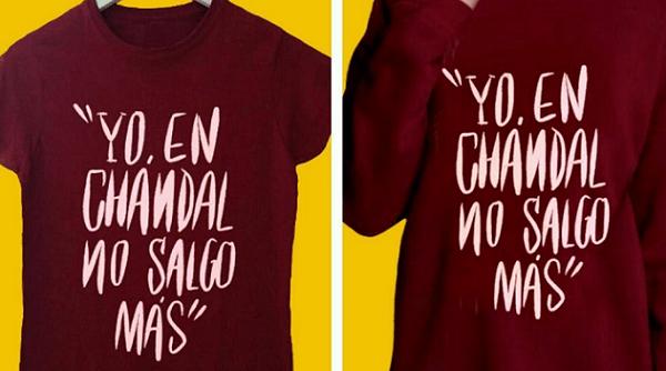Chenoa Presenta una Camiseta con Indirecta para Bisbal