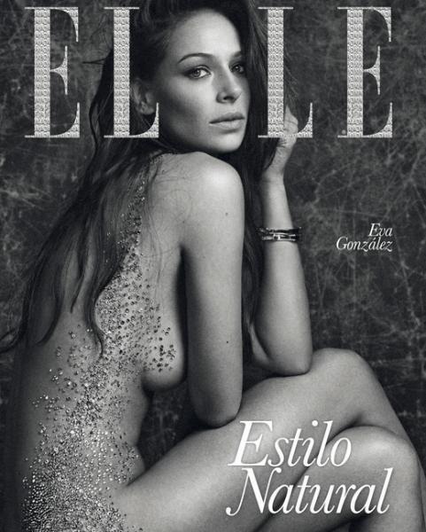 Eva González recuerda su Portada Histórica en Elle